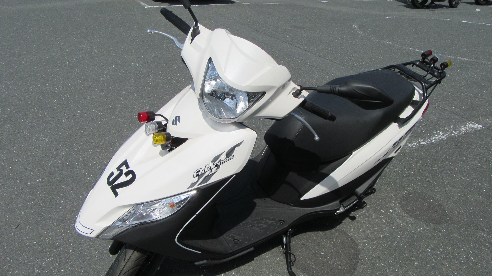 写真:小型二輪(125cc)AT 標準プラン【9月入校】