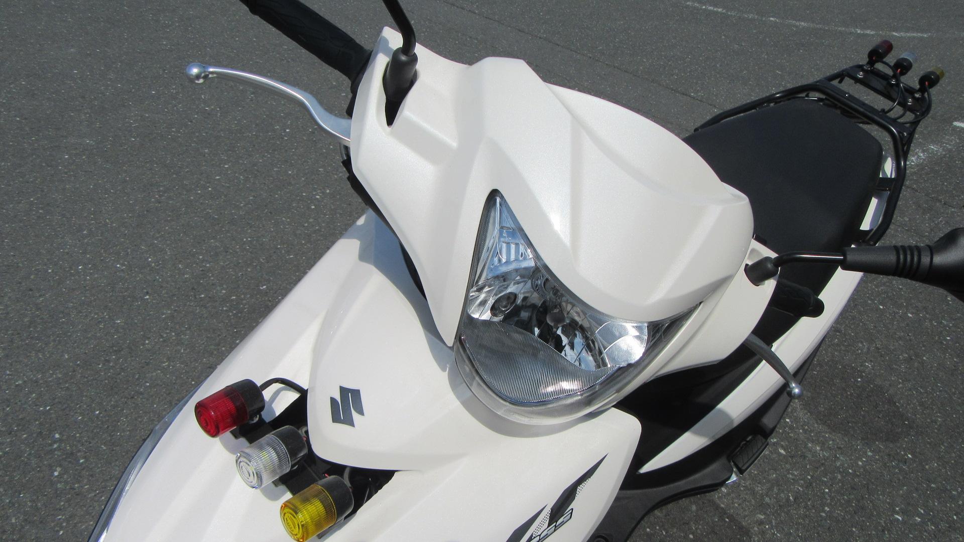 写真:小型二輪(125cc)AT 安心プラン(40歳〜59歳まで)【9月入校】