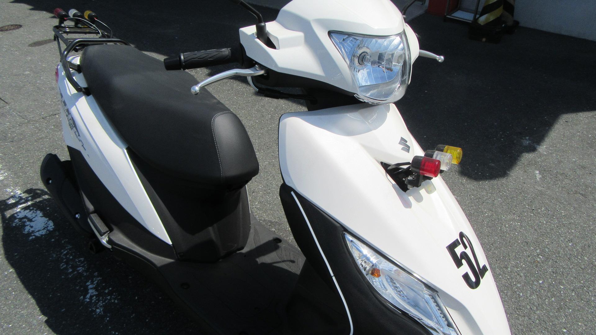 写真:小型二輪(125cc)AT 安心プラン(普通免許所持・39歳まで)【9月入校】