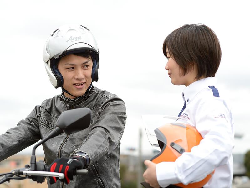 写真:普通二輪(400cc)AT 標準プラン(普通免許所持)【10月入校】