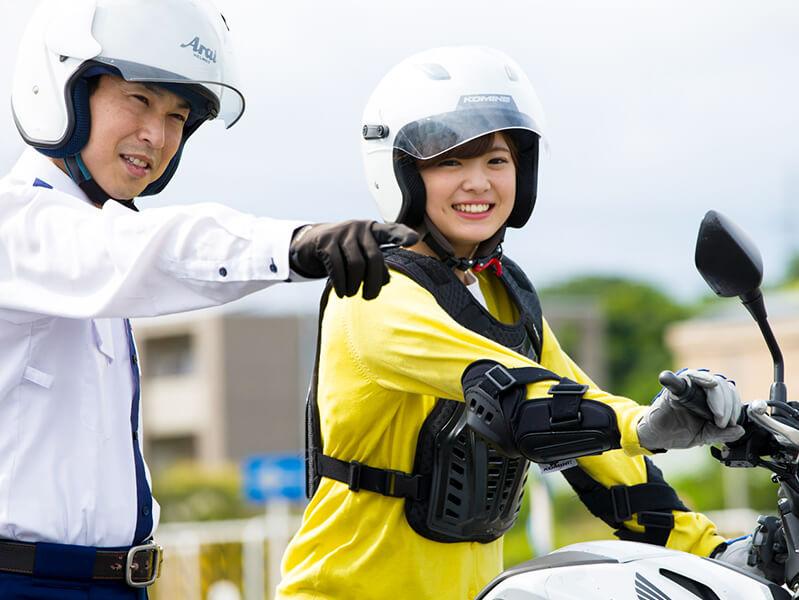 写真:普通二輪(400cc)MT 安心プラン(39歳まで)【10月入校】